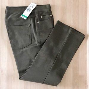NWT Karen Kane Lifestyle Dark Olive Ankle Jeans
